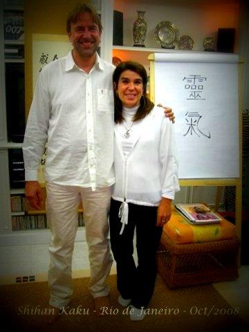 Ana e Arjava Reiki 2008