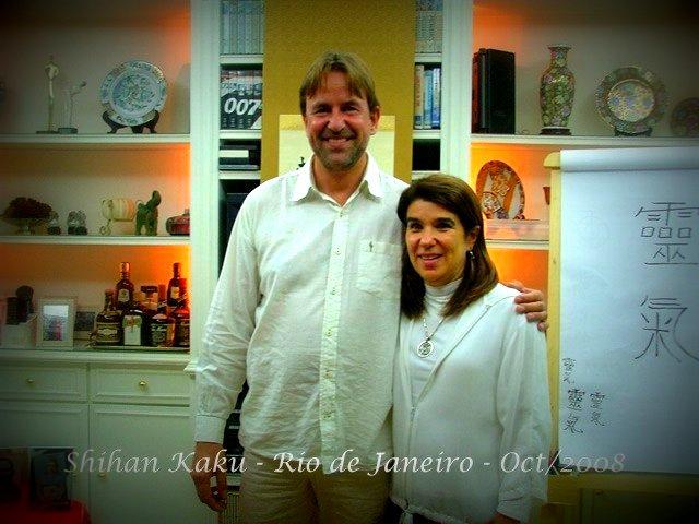 Shihan Kaku Arjava e Ana Tereza