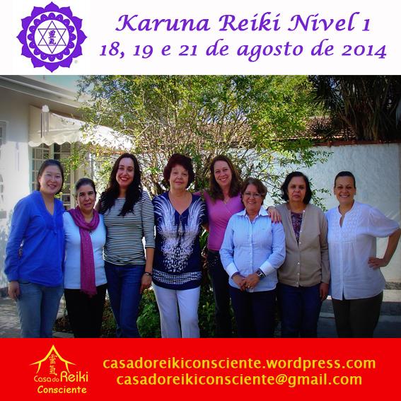 Turma Karuna Reiki Nivel 1 -ago2014