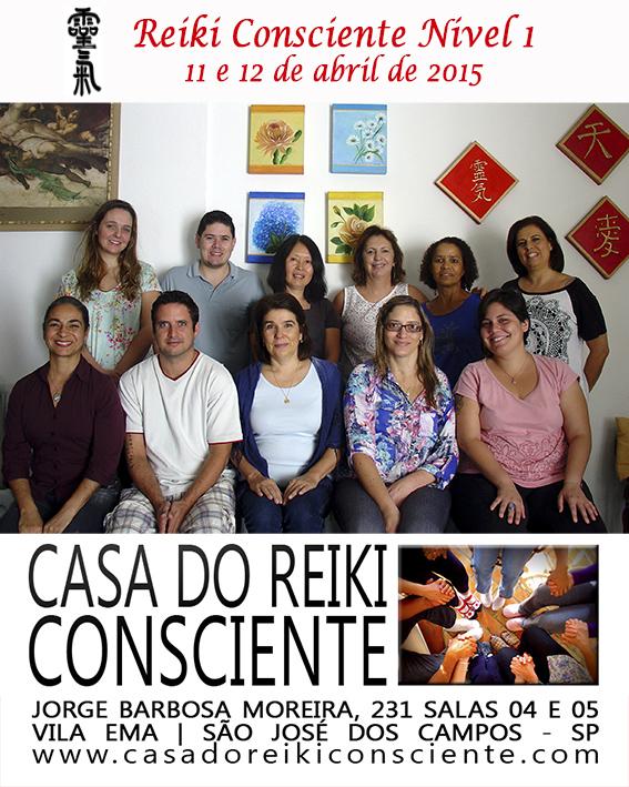 Turma Reiki Consciente Nivel 1 - abr 2015-01
