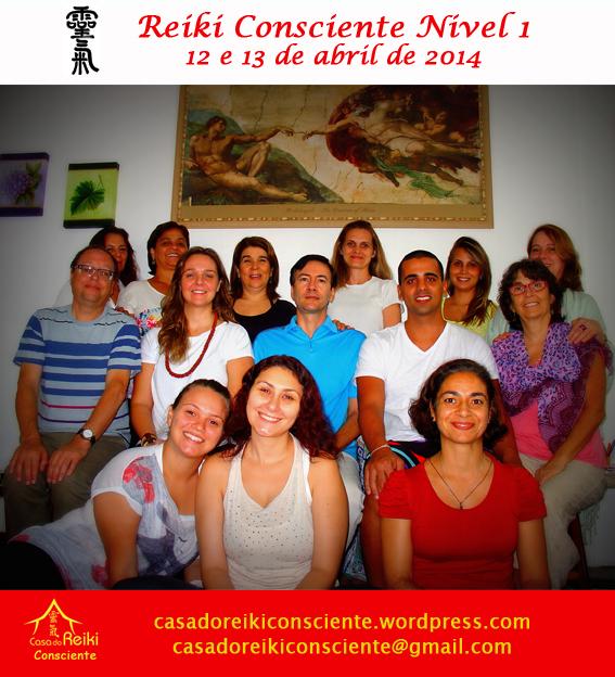 Turma Reiki Consciente Nivel 1-abr20142
