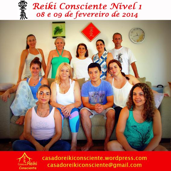 Turma Reiki Consciente Nivel 1 -fev2014