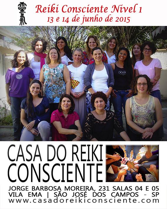Turma Reiki Consciente Nivel 1 - junho 2015-02