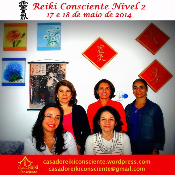 Turma Reiki Consciente Nivel 2 -mai2014