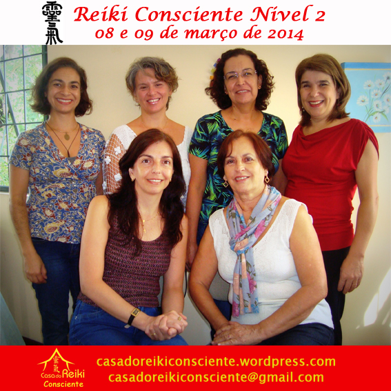 Turma Reiki Consciente Nivel 2 -mar2014